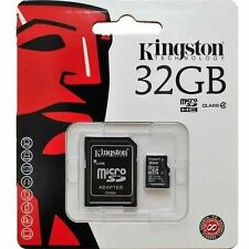 KINGSTON 32GB Micro SD CARD For SAMSUNG Galaxy Grand Max, Core Prime, A5, A3, S5