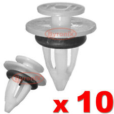 BMW X5 X6 SIDE TRIM SILL SKIRT CLIPS E70 E71 PLASTIC CLIPS WITH RUBBER SEAL RING