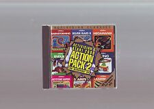 PC GAME - ACTIVISION'S ATARI 2600 ACTION PACK 2 - FAST POST 15 GAMES WITH MANUAL