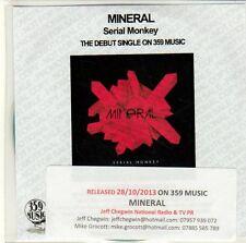 (EQ636) Mineral, Serial Monkey - 2013 DJ CD