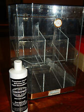 COUNTER TOP ACRYLIC CIGAR HUMIDOR DISPLAY 2 TIER