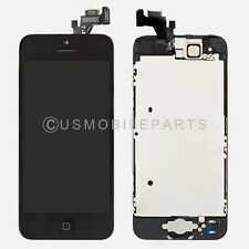 Black Iphone 5 LCD Screen Touch Screen Digitizer Glass Home Button + All Parts