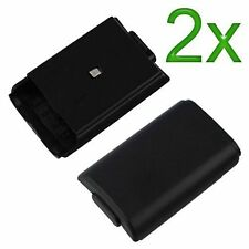 2X Black Battery Cover For Microsoft For Xbox 360 Protective Brand New 8Z