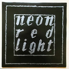 NEON Red light LP 1986 New Wave, Goth rock MINT  1° STAMPA SD 610 N