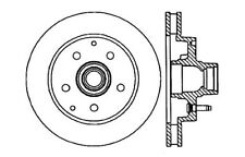 Centric Parts 127.66025L Front Performance Brake Rotor