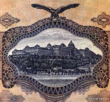 HONGRIE MAGYAR   Billet  100  PENGO 1930  USAGE CIRCULE PRE WW2