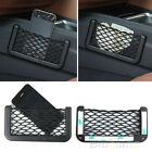 Black Car Seat Side Back Storage Net Bag Phone Holder Pocket Organizer New B54U