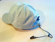 Adjustable HAT CLIP / CAP RETAINER - Clip to Shirt - Boating/Jogging - A1 GIFT!