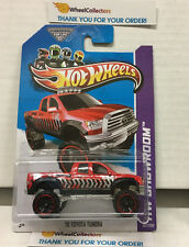 '10 Toyota Tundra #167 * RED * 2013 Hot Wheels * H29