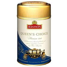 "Riston ""Queens Choise"" Black and green tea with strawberry aroma 125 g = 4.4 oz"