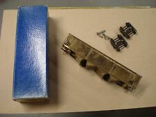 O-SCALE BRASS MAX GRAY OFFSET SIDE QUAD HOPPER #802 NEW IN BOX