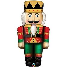 "XL 33"" Nutcracker Christmas Mylar Foil Balloon Super Shape Party Decoration"