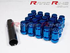 Blue Spline Wheel Nuts x 20 12x1.25 Fit Nissan 100nx Micra Almera Sunny Qashqai