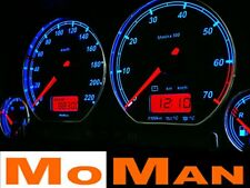 VW Golf MK3 Vento glow gauges plasma tacho reverse gauges glow dials shift light