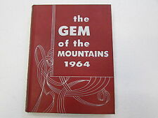 YEARBOOK 1964 GEM OF THE MOUNTIANS UNIVERSITY OF IDAHO