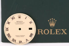 Rolex Datejust Cream Bold Roman Dial for model 16014 & 16234 INV #0957