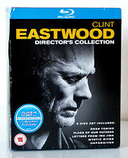 Clint Eastwood: The Director's Collection (5 Movies, 5-Disc Set) Blu Ray, New