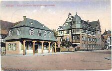 Giessen, Alte Polizeiwache und Regierungsgebäude, Feldpost 1915