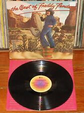 THE BEST OF FREDDY FENDER 1976 USA LP Country Freak Mexican Rock'n'Roll