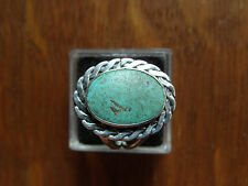 Vintage Navajo Southwest Sterling Silver Turquoise Ring size 5.5