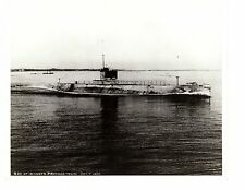USS S20 SS125 Submarine Photograph 8x10 BW Provincetown 1920