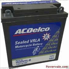 ACDelco 12v 5 AH VRLA selaed Bike Battery from GM-5 Yrs warranty