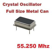 55.250Mhz 55.250 Mhz CRYSTAL OSCILLATOR FULL CAN ( Qty 10 ) *** NEW ***