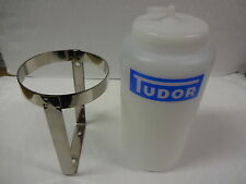 AUSTIN A30 A35 A40 A50 A60 TUDOR WASHER BOTTLE AND STAINLESS STEEL HOLDER