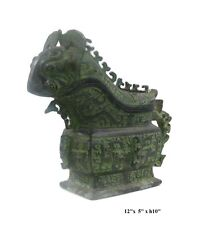 Chinese Green Bronze-ware Home Decor Display vs991