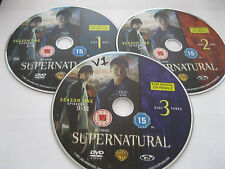 SUPERNATURAL SERIES 1 Vol 1 - 3 discs featuring 11 episodes - DISC ONLY {DVD}