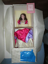 Franklin Heirloom Dolls - Princess Kiss With Cape and Tiara