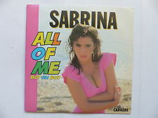 45 Tours SABRINA All of me boy oh boy 14517