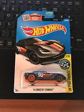 HOT WHEELS 2016 '14 CORVETTE STINGRAY SUPER TREASURE HUNT 5 – 10 HOTWHEELS