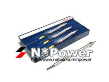BOSCH GLOW PLUG SET 4 FOR VW PASSAT 103 TDI 3C 2.0L TDI 2008-2010 CBAB TURBO