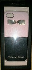 VICTORIA'S SECRET PINK/BLACK W/GOLD BOW HARD CASE COVER IPHONE 6