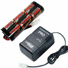 Overlander 3300mah 7.2v NiMH Battery Pack & Powerjack Fast Charger RC Car Tamiya
