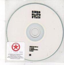 (DV39) Ringo Death Starr, So High / Weekend Dudes - 2011 DJ CD