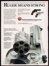 1989 RUGER GP100 Revolver AD Nice close-up image of cylinder