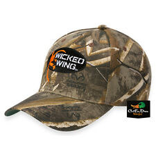 NEW BROWNING WICKED WING LOGO CAMO COTTON HAT BALL CAP REALTREE MAX-5 CAMO