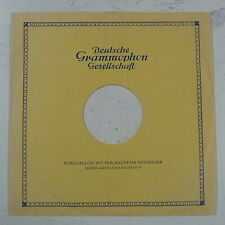 "record sleeve for 78rpm 12"" gramophone disc : DEUTSCHE GRAMMOPHON"