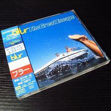 Blur - The Great Escape JAPAN CD+2 Bonus Track W/OBI Mint #139-2