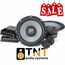 """MOREL TEMPO ULTRA 602 2WAY COMPONENT CAR SPEAKERS SYSTEM 6.5"""" 120W ORIGINAL NEW"""