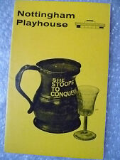 1966 Theatre Programme She Stoops to Conquer- Oliver Goldsmith