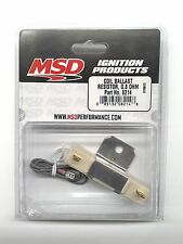 MSD 8214 MSD Ignition Coil Ballast Resistor-0.8 OHM-Stock Points Ignition System