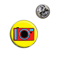 Camera Travel Picture Lapel Hat Tie Pin Tack