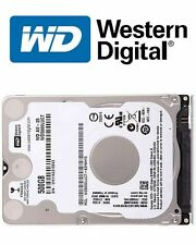 "Western Digital WD AV 25 500GB 2.5"" 7mm Internal SATA Hard Disk Drive WD5000LUCT"