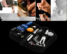 13 Pieces Watch Opener Repair Tool Kit Set Pin Strap Remover Battery Replacement