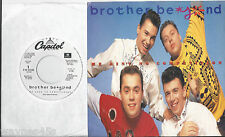 BROTHER BEYOND * 45 * He Ain't No Competition 1988 DJ PROMO * UNPLAYED MINT w PS
