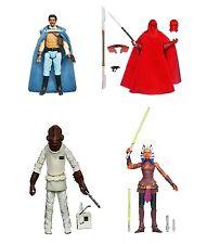 Star Wars Black Series producto exclusivo juego de 4 Fundación Royal Guard Ackbar Nuevo