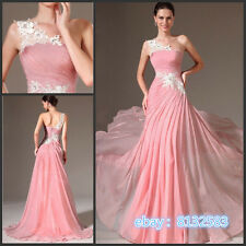2017 New Chiffon Bridesmaid Formal Gown Ball Party Cocktail Evening Prom Dress